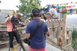 B-roll at Swayambhunath Temple (Monkey Temple)